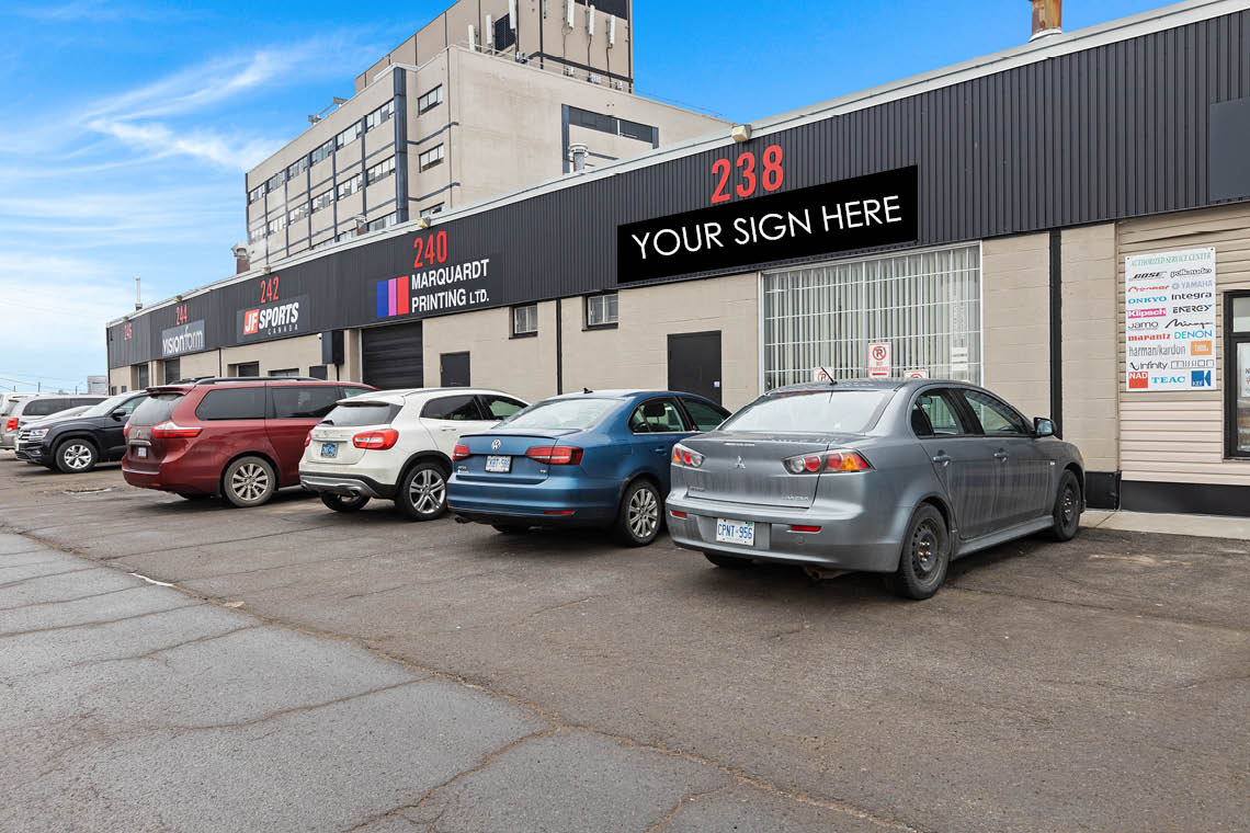 exterior bay 238 upper level warehouse bay 250 city centre