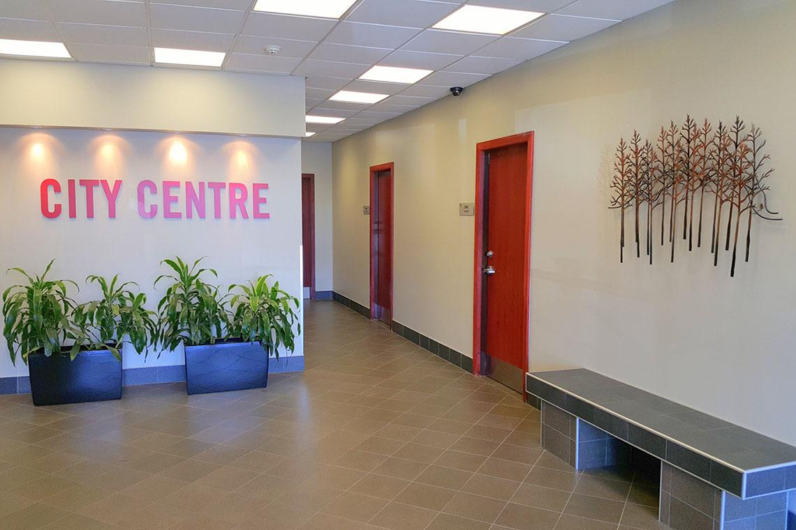 lobby interior 250 city centre avenue