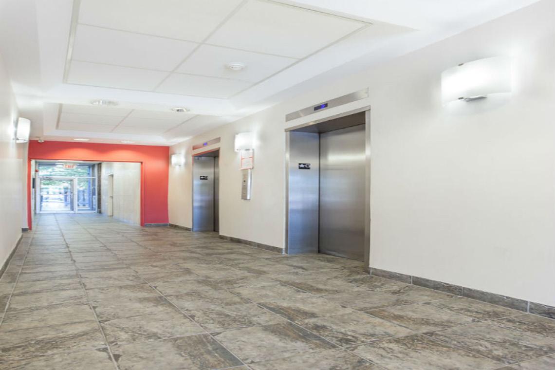 lobby showing elevators 2249 carling avenue