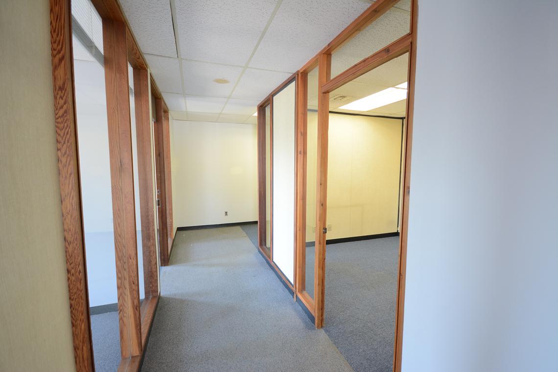 interior suite 201 hallway