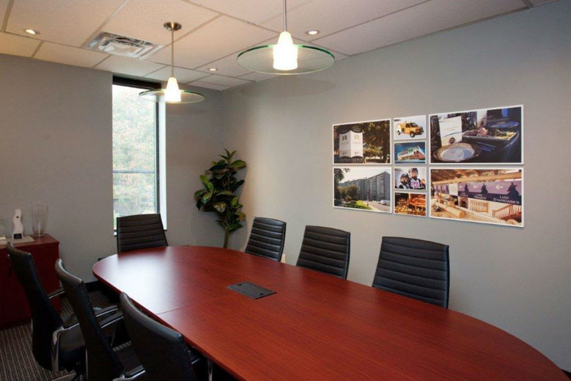 common boardroom available by request tenant amenity 2249 carling avenue