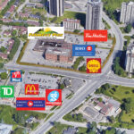 map of intersection Meadowlands Drive East and Prince of Wales Drive showing amenities