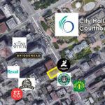 map of area immediate to 200 elgin street