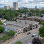 aerial photo 1339 wellington street west