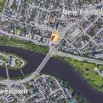 map of New Edinburg showing 29 beechwood 409 mackay