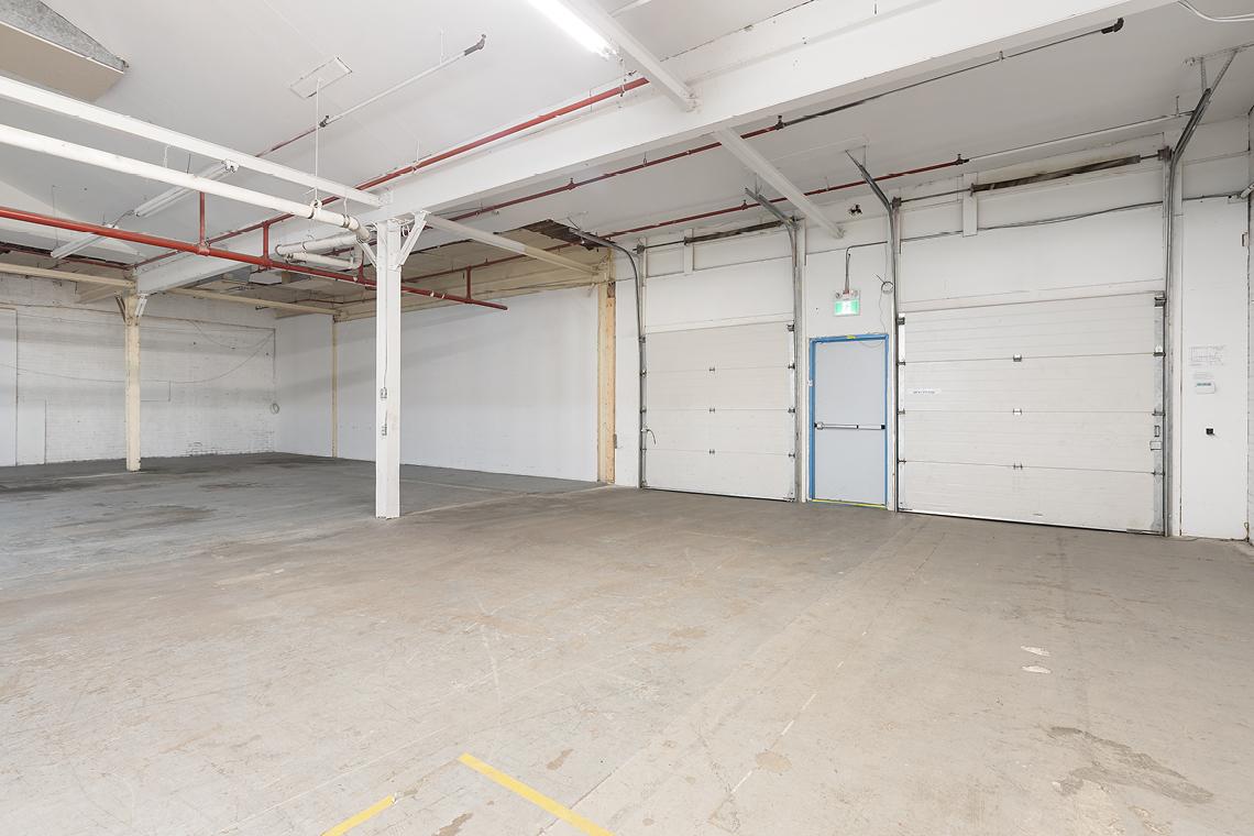 166 elm street interior warehouse portion