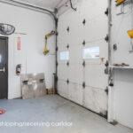 166 elm street interior of common loading dock door in common loading corridor