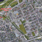 map of ottawa west showing 166 elm street