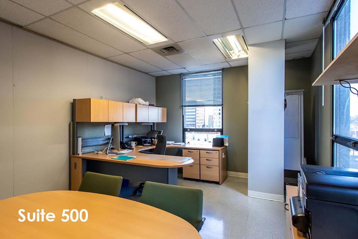 suite 500 interior 1 nicholas street