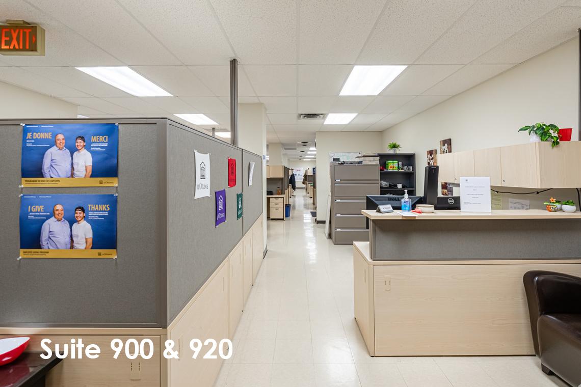 suite 900 & 920 interior 1 nicholas street