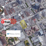 map showing immediate area surrounding 1 nicholas street