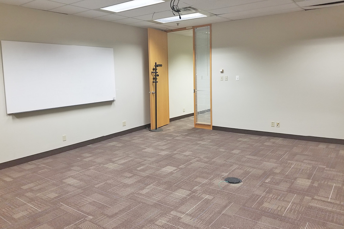 office suite 160 facing door at 1130 morrison drive