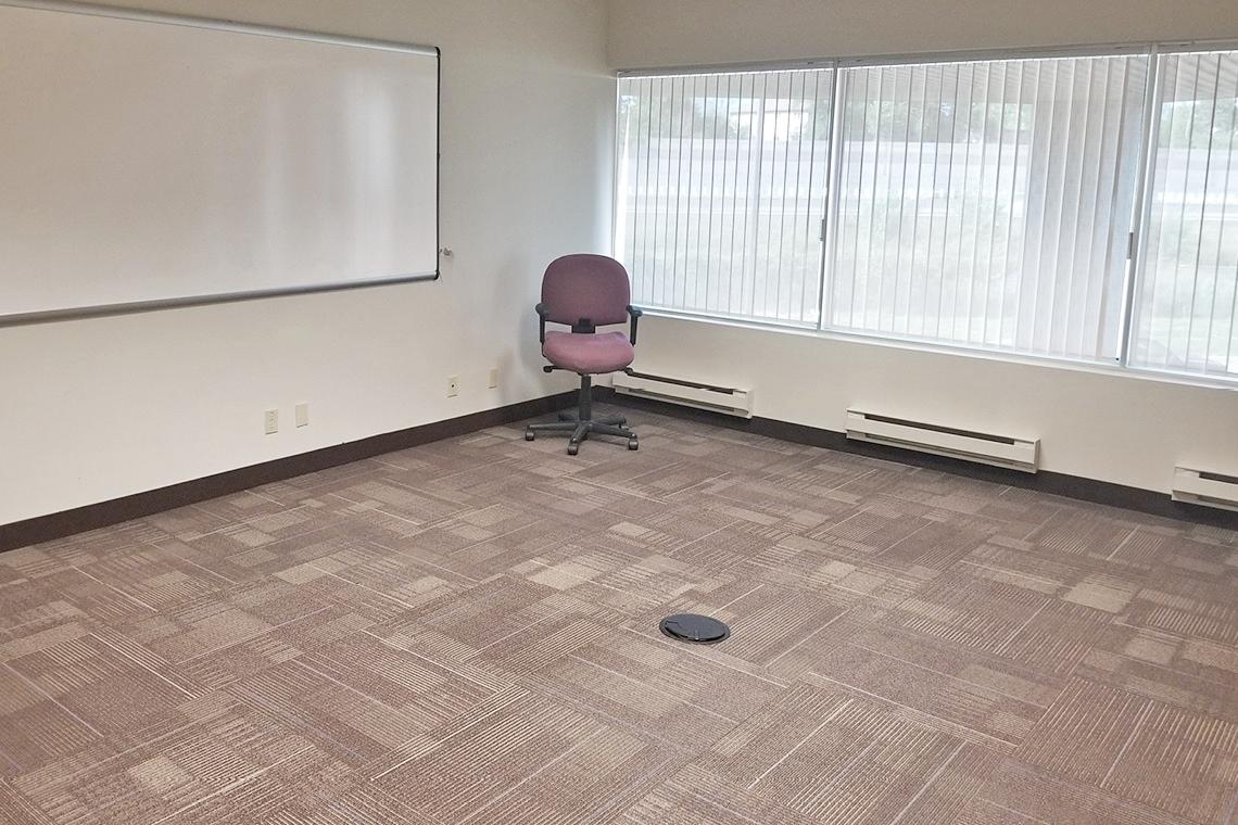 office suite 160 facing windows 1130 morrison drive