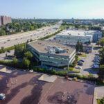 aerial photo exterior 1130 morrison drive