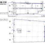 floor plan warehouse bay 208-218