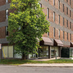 unit 102 fitted for flower shop, large windows and building signage 2255 carling avenue
