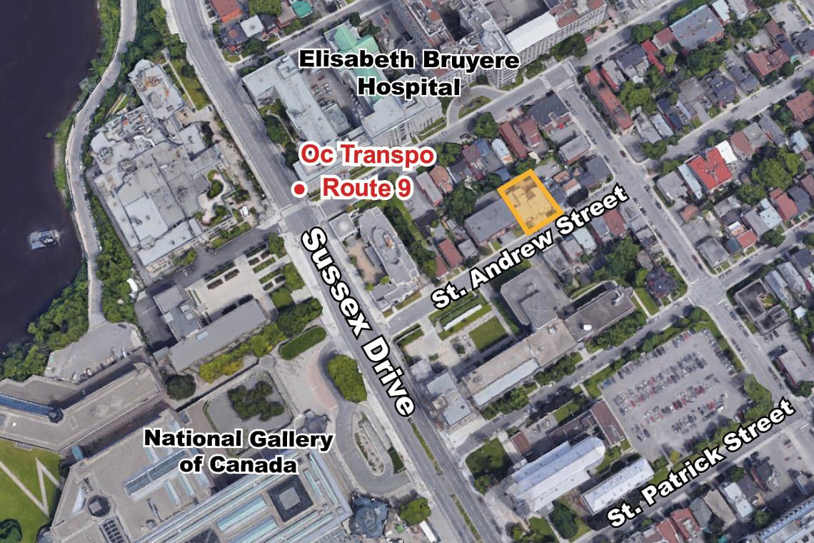map of 45-47 saint andrew street