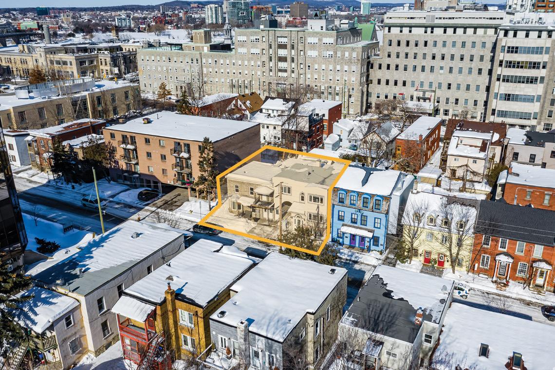 aerial photo of 45-47 saint andrew street