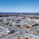 aerial photo of nepean crossroads centre