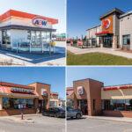 restaurants at nepean crossroads centre including A&W, Boston Pizza, Burger King, Shawarma King