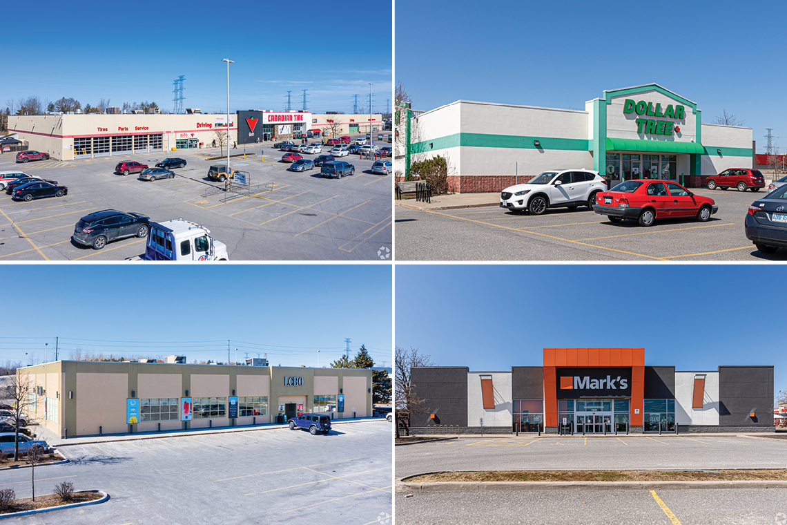 canadian tire, dollar tree, LCBO, Marks Work Warehouse at nepean crossroads centre