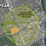 map of nepean showing nepean crossroads centre
