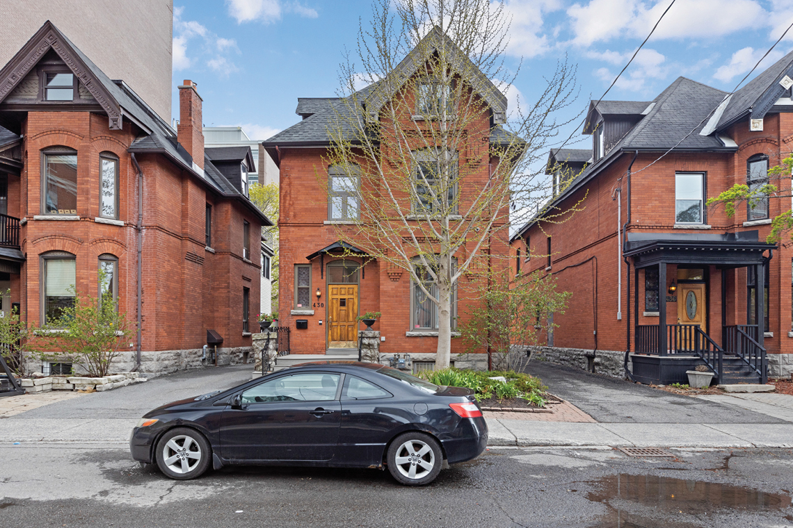 exterior 430 Gilmour street