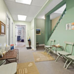 interior second level waiting room 430 gilmour street