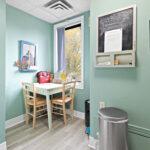 interior second level kitchen break room 430 gilmour street