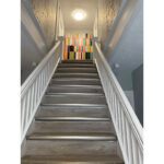 common area, staircase, artwork. 52 saint andrew street