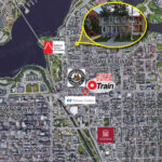 map of downtown ottawa showing 52 saint andrew street