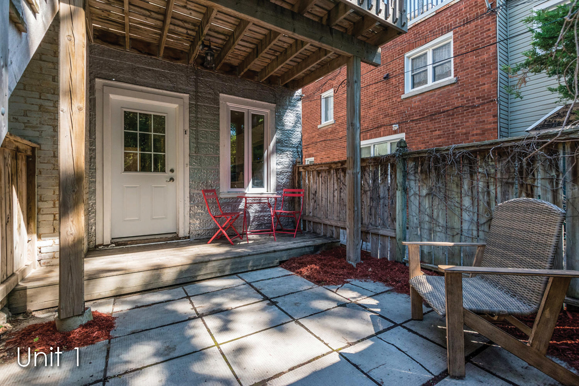unit 1 patio 52 saint andrew street